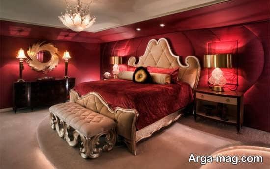 دیزاین اتاق خواب عروس
