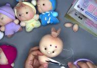 عروسک سازی با جوراب زنانه
