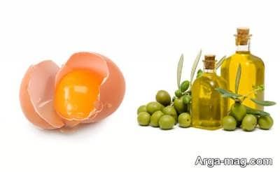 تخم مرغ درمان کننده خشکی پوست