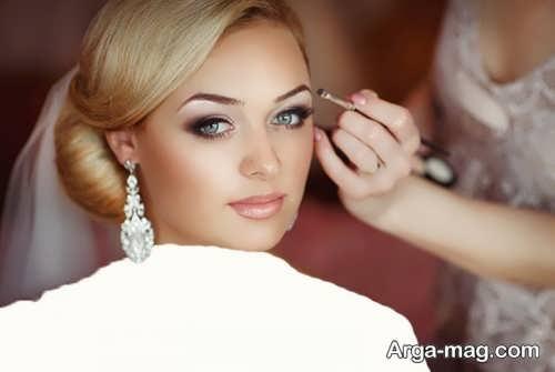 مدل آرایش صورت شیک و جذاب اروپایی