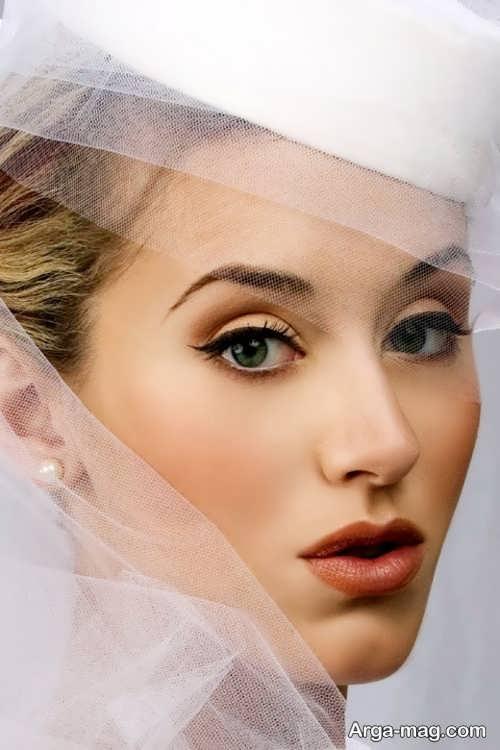 مدل آرایش صورت جدید عروس