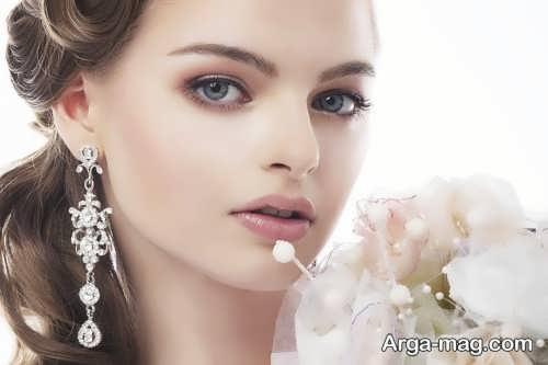 مدل آرایش ملایم اروپایی