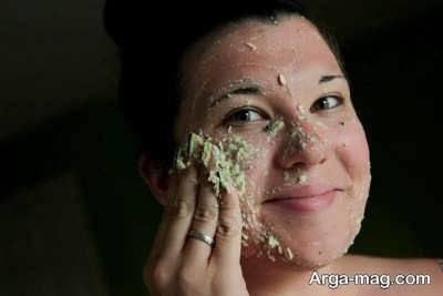 درمان جوش صورت با 5 ماسک طبیعی