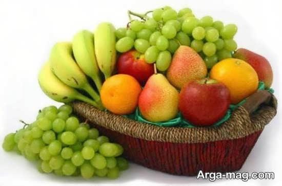 تزیین زیبا ظرف میوه