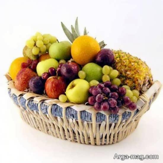 تزیین ظرف میوه با روش های زیبا و جالب