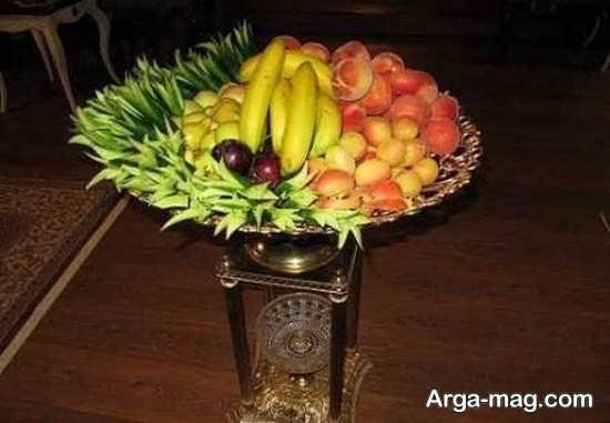 تزیین ظرف میوه با روش های جالب و خلاقانه