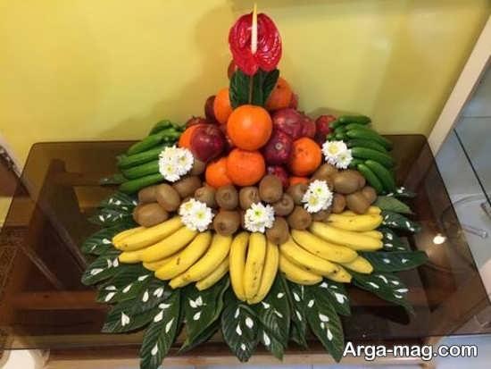 تزیین خلاقانه و جالب ظرف میوه