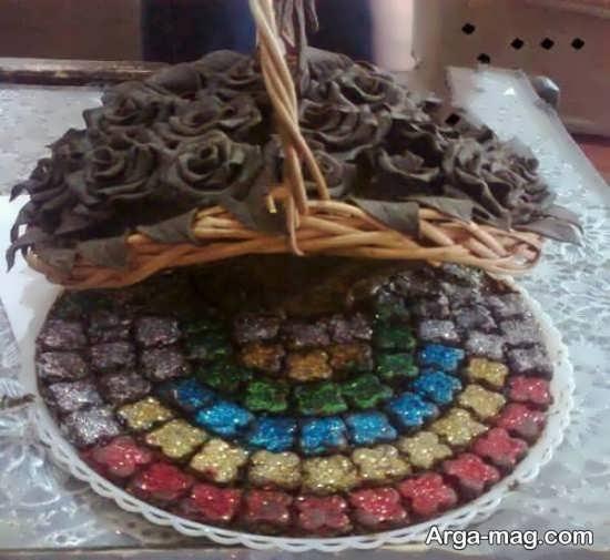 تزیین حنا به شکل گل با انواع ایده های جالب