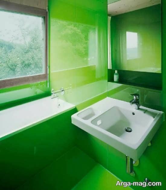 طراحی دکور به رنگ سبز