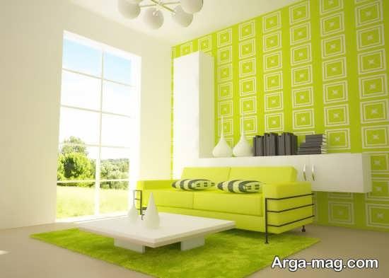 طراحی دکوراسیون با رنگ سبز