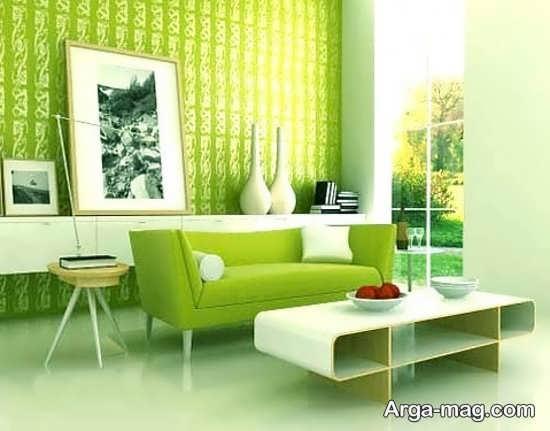 دکوراسیون خانه با رنگ سبز