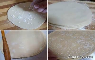 طرز تهیه خمیر سمبوسه بدون مخمر