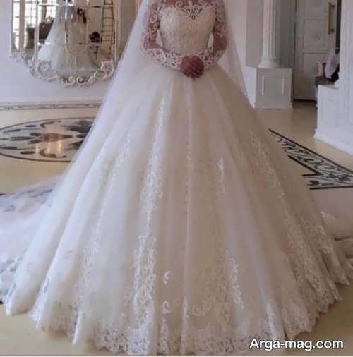 مدلهای زیبای از لباس عروس دانتل