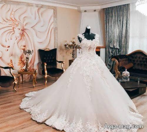 خاص ترین مدل لباس عروس دانتل