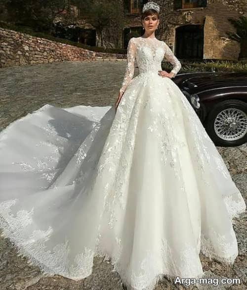 مدلهای متفاوتی از لباس عروس دانتل