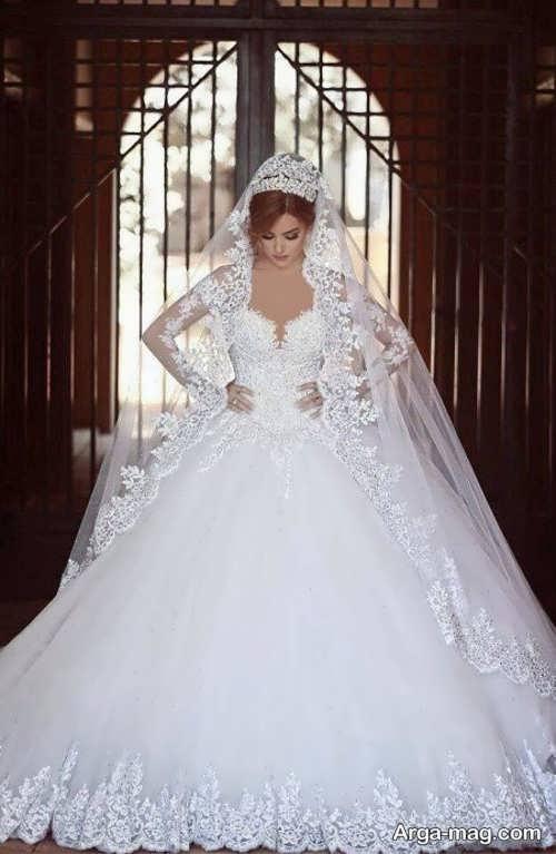 مدلهای دوست داشتنی از لباس عروس دانتل