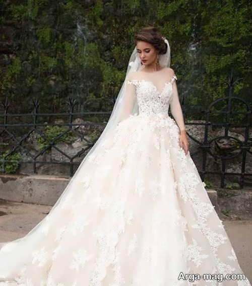 مدلهای به روزی از لباس عروس دانتل
