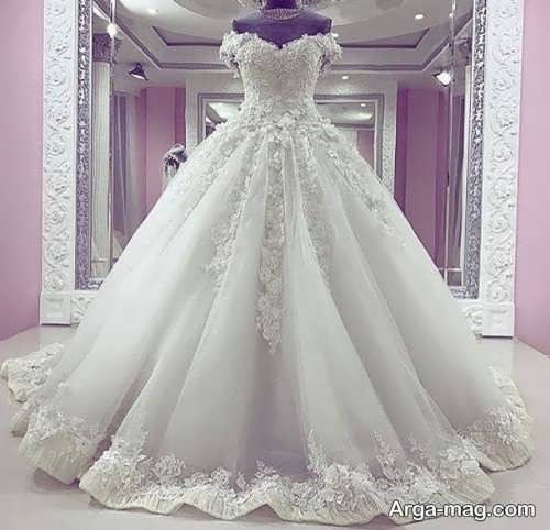لباس عروس دانتل با طرح های جدید