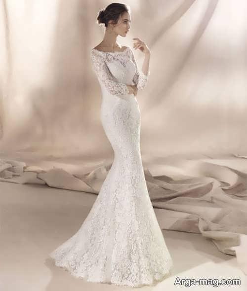 قشنگ ترین مدل لباس عروس دانتل