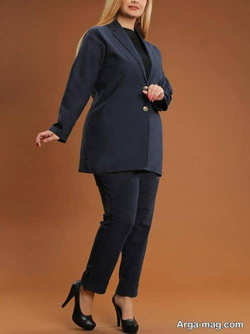 مدل شیک کت و شلوار سایز بزرگ