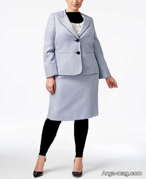 مدل کت و دامن ساده و شیک زنانه