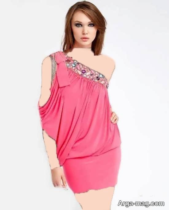 مدل لباس کشی ریون خونگی مدل لباس ریون کوتاه زنانه و دخترانه جدید برای مهمانی ها