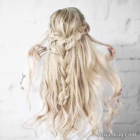 مدل موهای باز دخترانه ساده