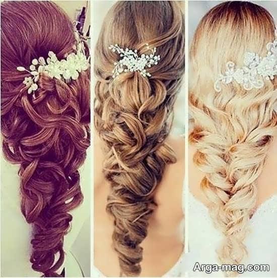 مدل و رنگ موهای زیبا برای موهای بلند