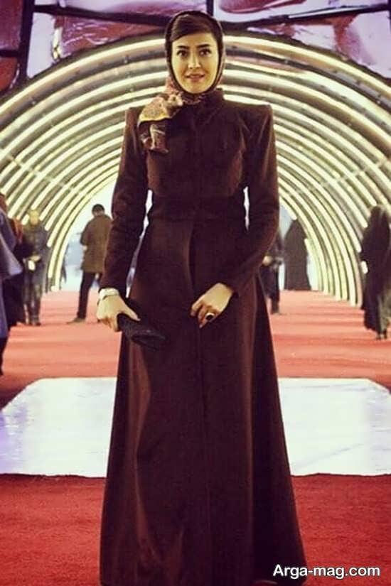 مدل مانتو زیبای مریم معصومی