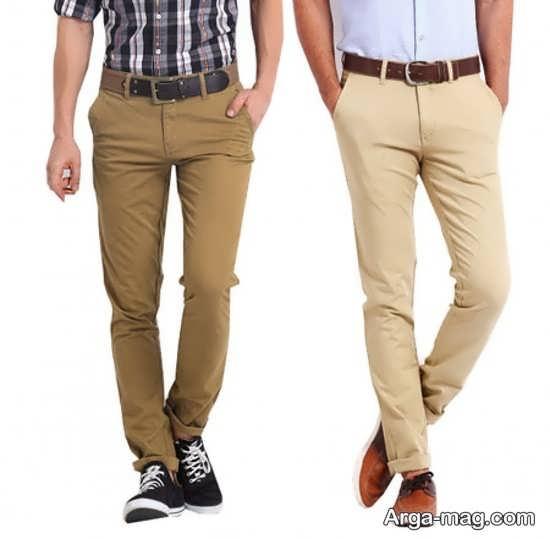مدل شلوار کتان طرح دار مدل شلوار کتان مردانه جدید برای شیک پوشان
