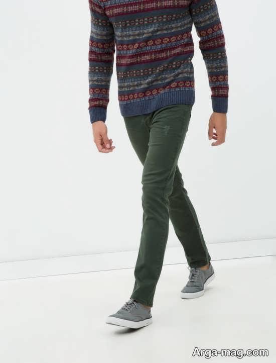 مدل شلوار کتان مردانه