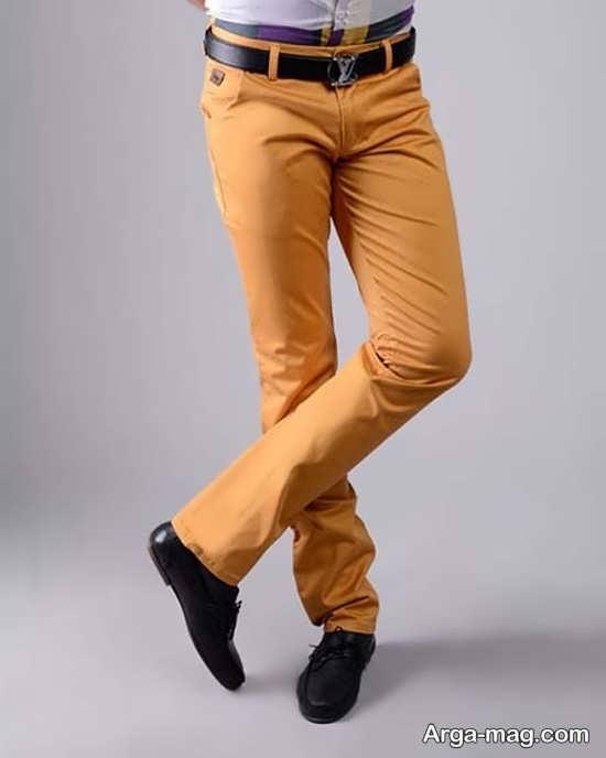 شلوار کتان مردانه با رنگ های زیبا