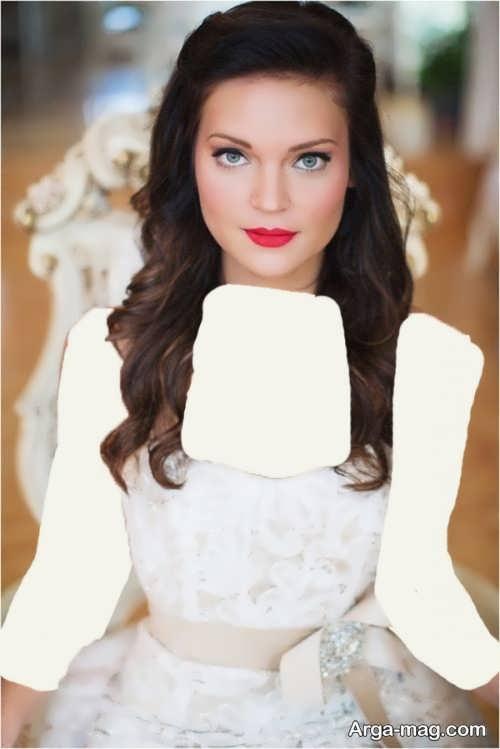 مدل آرایش صورت زیبا و جذاب عروس