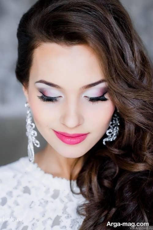 مدل آرایش صورت اروپایی و خاص عروس