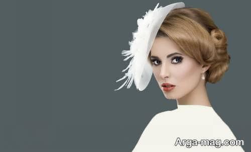 مدل آرایش شیک و زیبا عروس