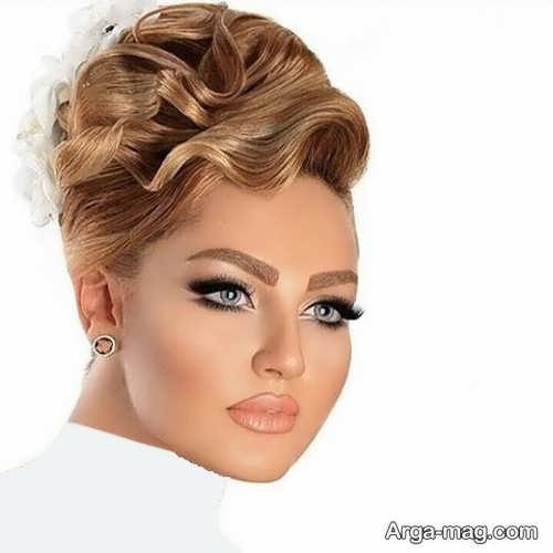 مدل آرایش زیبا و جدید عروس