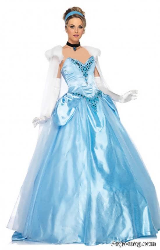 مدل لباس پرنسس سیندرلا