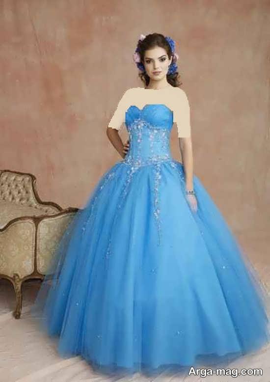 مدل لباس زیبای پرنسسی