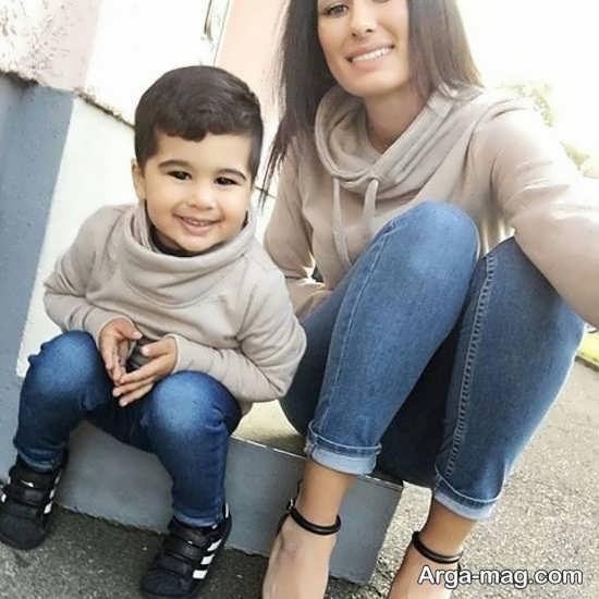 لباس ست مادر و پسر