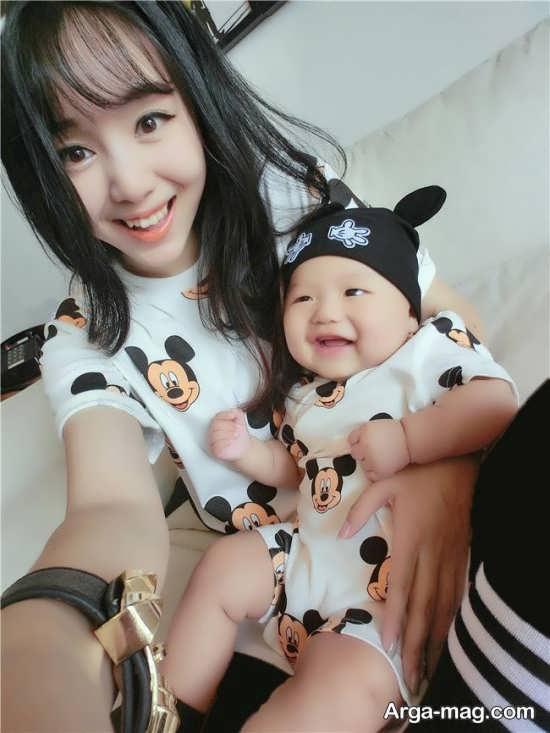 لباس ست مادر و کودک