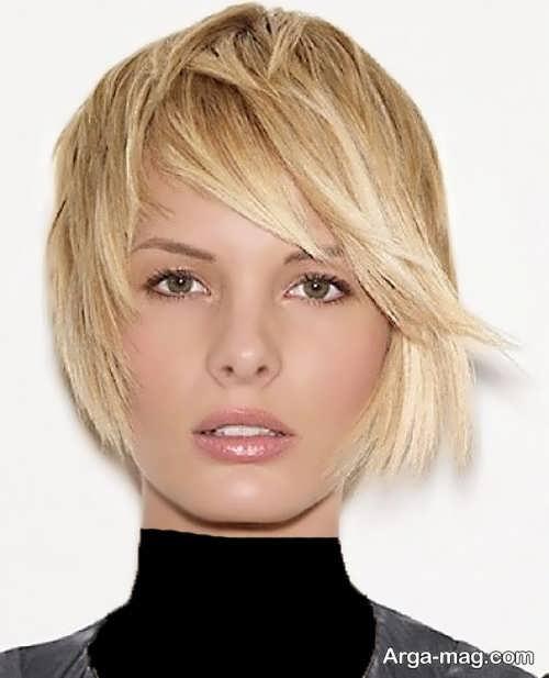 مدل کوتاهی شیک و زیبا موی کوتاه