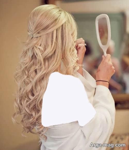مدل موی باز برای عروس های باکلاس