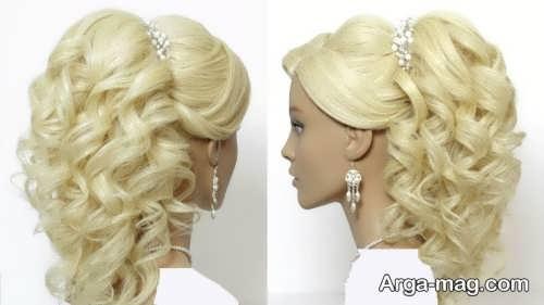 مدل موی عروس شیک و جذاب