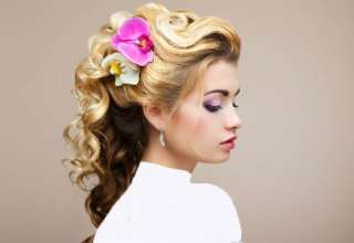 انواع مدل موی باز برای عروس