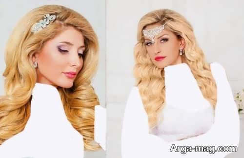 مدل موی باز برای عروس جدید