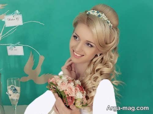 مدل موی باز برای عروس شیک و زیبا