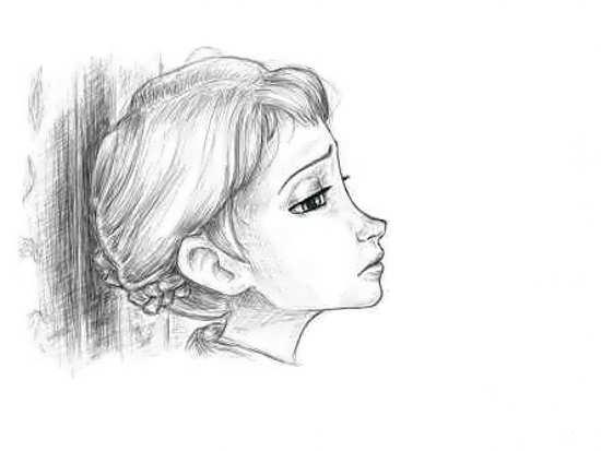 طراحی چهره شاهزاده آنا