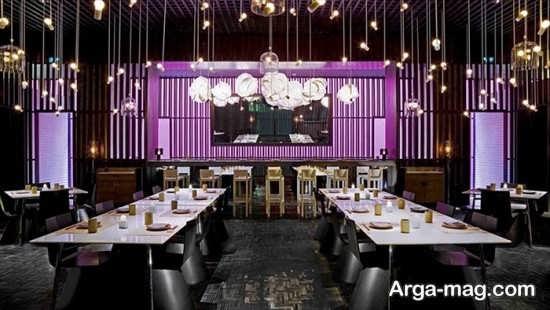 معماری داخلی رستوران باکلاس