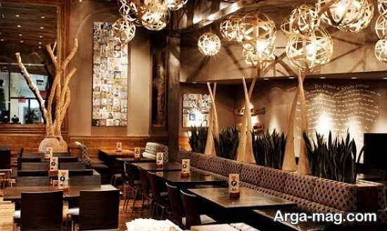 معماری داخلی رستوران شیک
