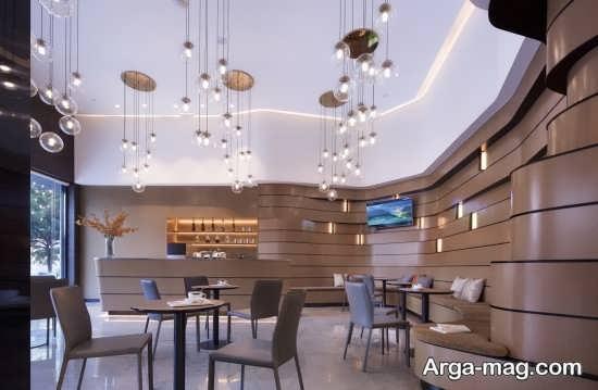 معماری داخلی رستوران ایرانی